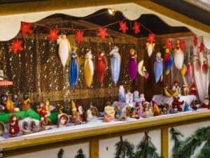 Bude auf Christkindmarkt