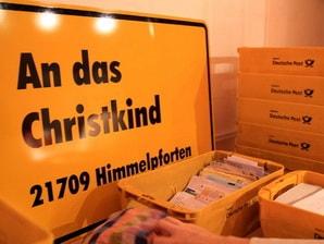 An das Christkind Adresse