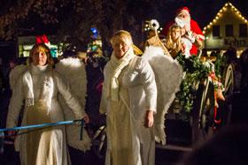 Einzug des Weihnachtsmannes 2011