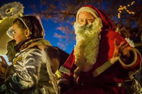Einzug des Weihnachtsmannes 2012