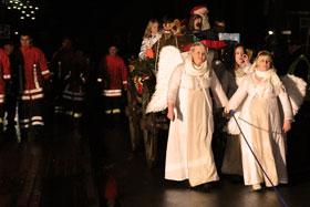 Einzug des Weihnachtsmannes 2013
