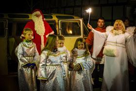 Einzug des Weihnachtsmannes 2014