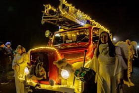 Einzug des Weihnachtsmannes 2016