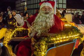 Einzug des Weihnachtsmannes 2017