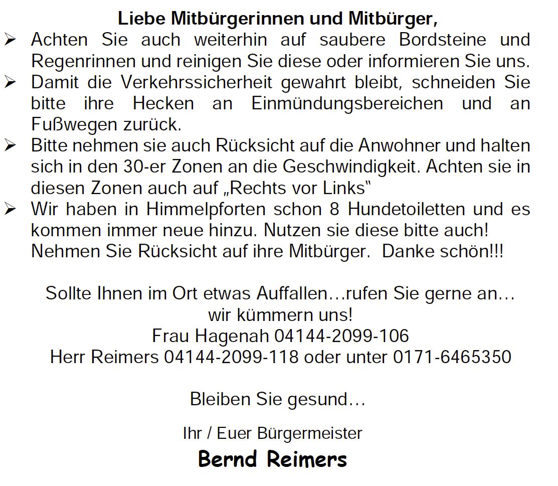 Bürgerinfo 2021 2